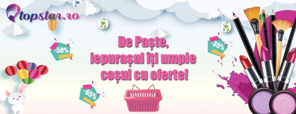 Happy Easter Sales – Reduceri cosmetice TopStar de pana la -70%
