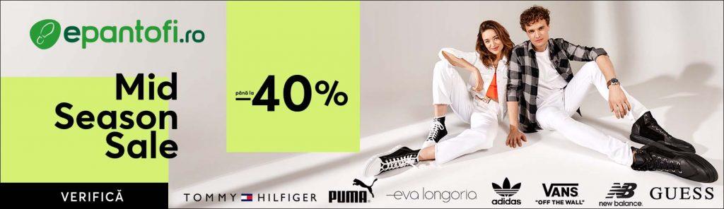 Reducere epantofi.ro de pana la -40% la sute de produse Mid Season Sale