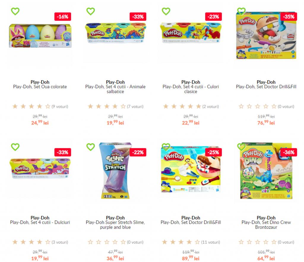 Cod Reducere elefant.ro -20% la seturile Play-Doh